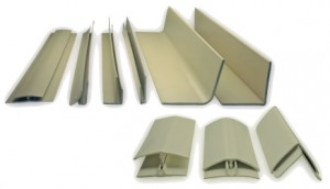 Moldings for FRP Wall Panel Installations