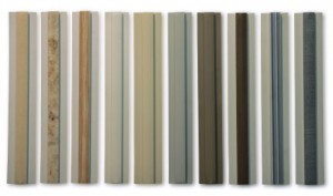 Decorative molding options for FRP Wall Panels