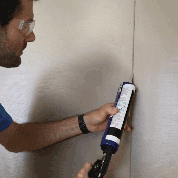 Accessories for FRP Panels including caulk
