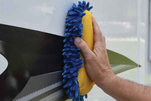 How to care for your RV sidewall panels