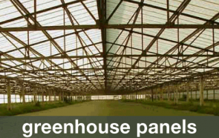 Green house panels
